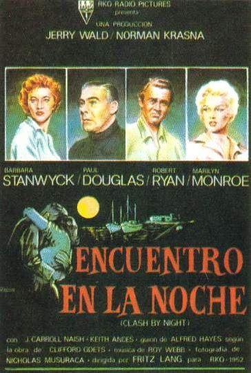 Encuentro en la Noche 1952 cartel