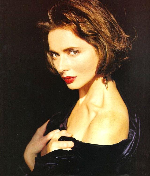 Isabella Rossellini joven hermosa