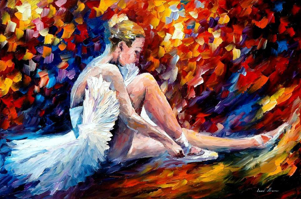 Leonid afremov ballerina