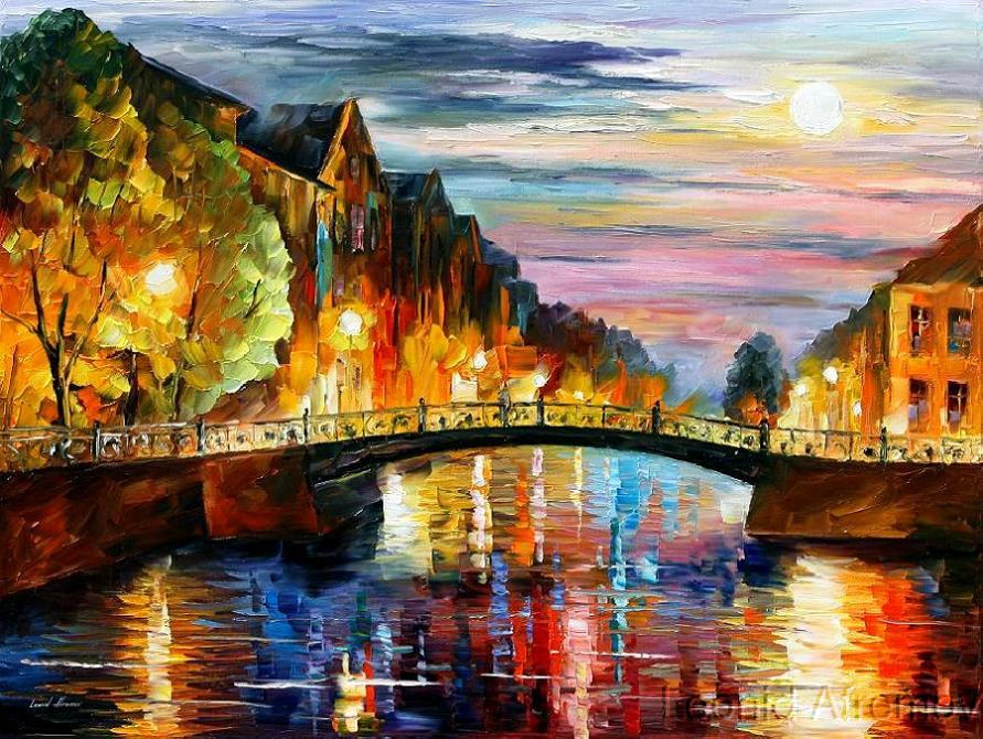 Leonid afremov bridge