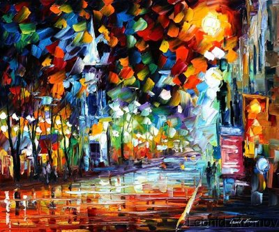 Leonid afremov celebration