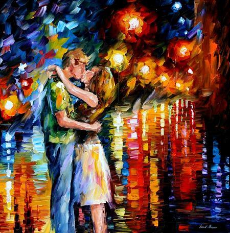 Leonid afremov last kiss