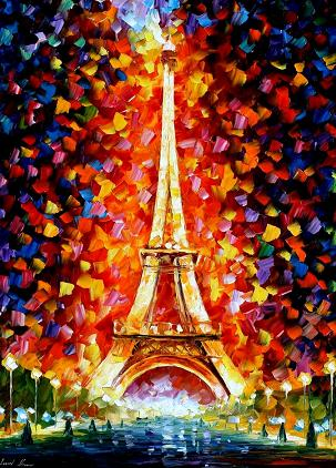 Leonid afremov paris