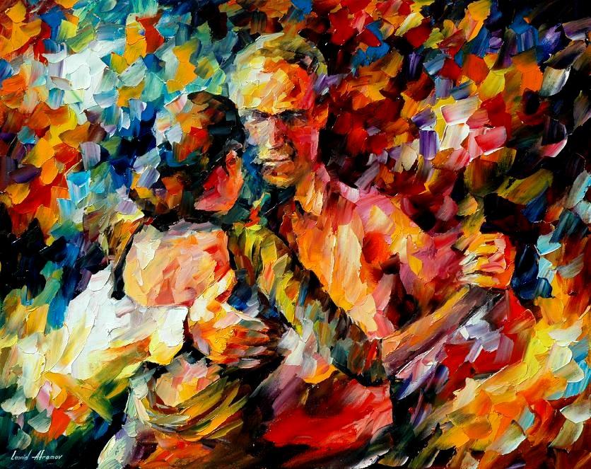 Leonid afremov tango of love