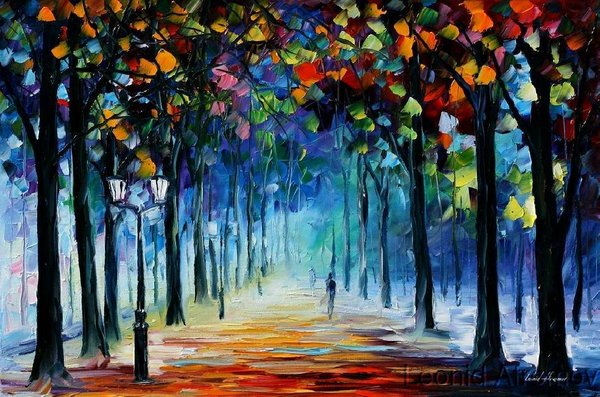 Leonid afremov winter