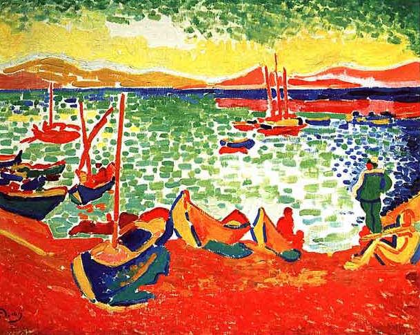 Maurice Vlamink arte fauvista 1905