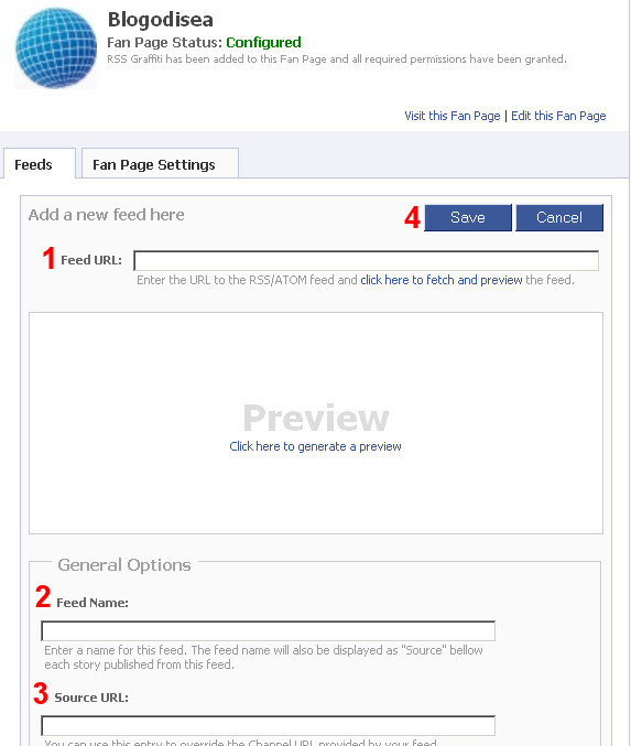 actualizar facebook feed blog 4