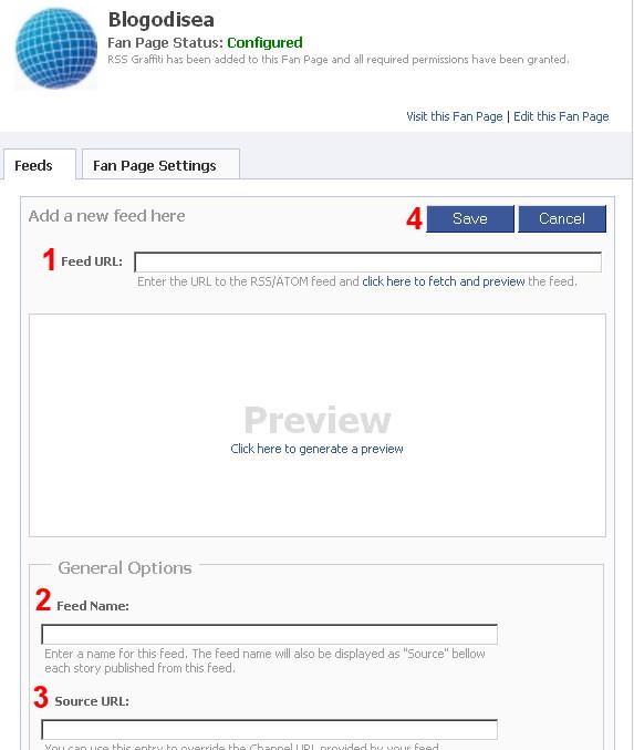 actualizar facebook feed blog 4