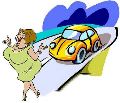 atropellar suegra coche accidente