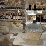 El tapón de corcho de las botellas de vino
