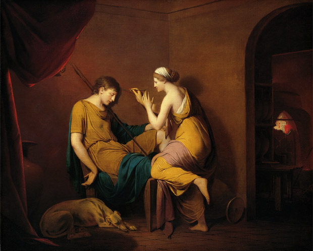 doncella_corintia_joseph wright 1782-1784