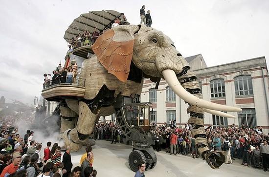 elefante construccion
