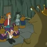 Momentos Futurama: ¿También sale de un trasero?… ¡No quieras saberlo!