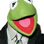 gustavo kermit traje corbata