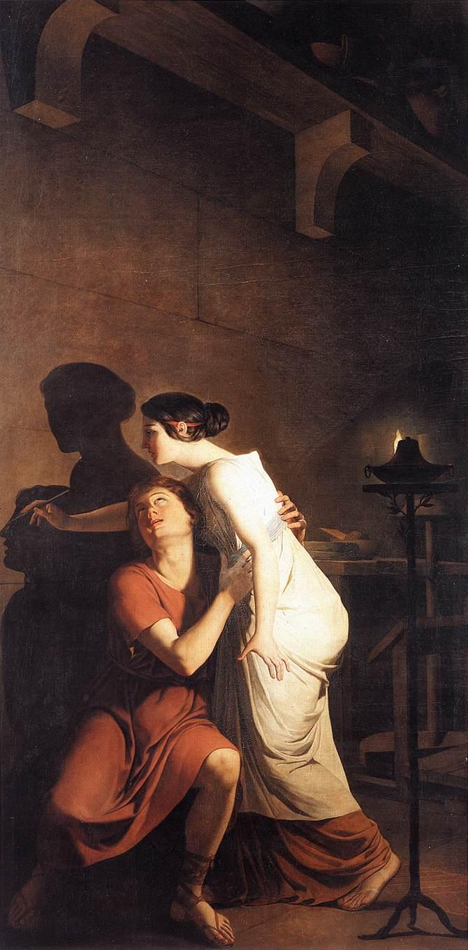 invencion arte pintura Joseph-Benoit Suvee