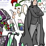 Juego para vestir a Severus Snape