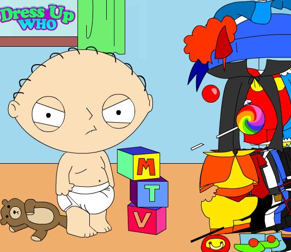 Juego para vestir al bebé Stewie