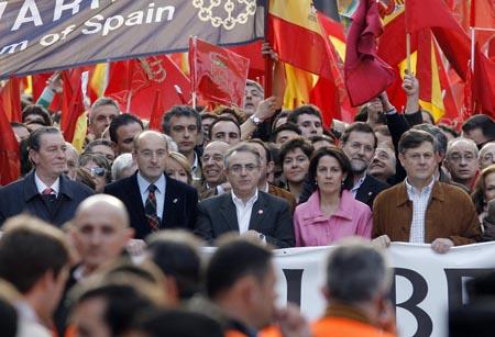 manifestacion zapatero