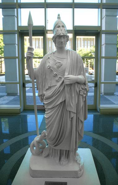 minerva atenea mitologia albany