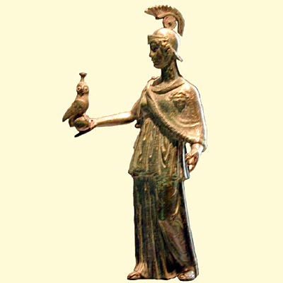 minerva atenea mitologia bronze