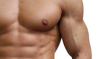 pezones pechos masculinos hombre