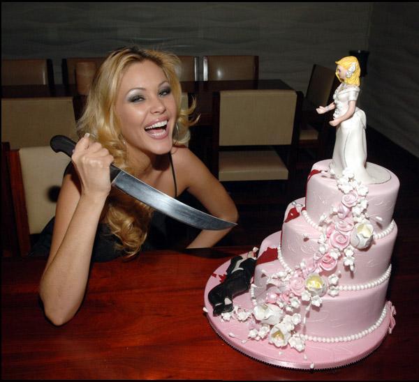 tarta novios boda novia
