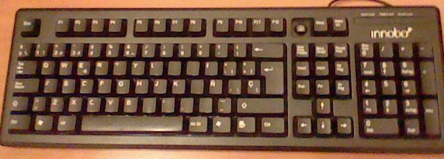 teclado innobo malo