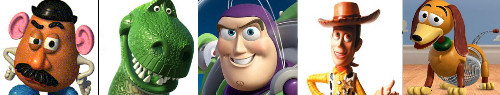 toy story personajes characters