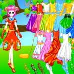 Vestidos y ropa para la ninfa
