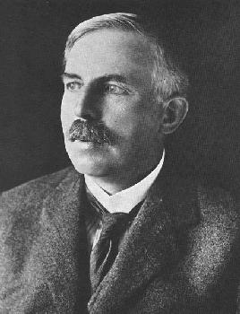 Ernest Rutherford nucleo atomo
