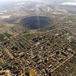 Uno de los agujeros más grandes en la tierra
