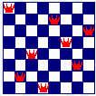ajedrez 8 ocho reinas
