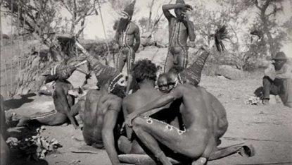 arrernte_ceremonia aborigenes australianos