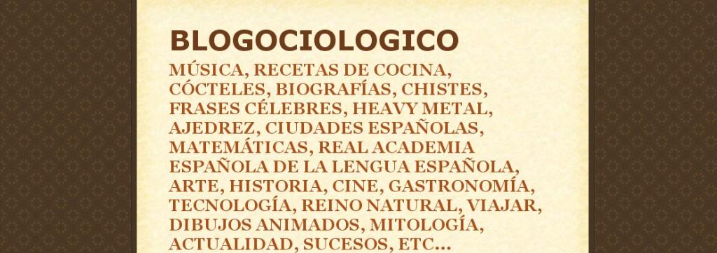 blog blogociologico