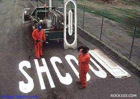 carretera humor school pintar fail