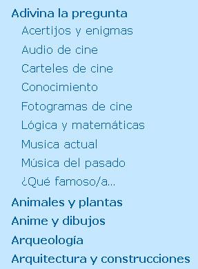 categorias subcategorias html li ul css parent child