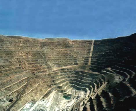 chuquicamata mina chile mas grande mundo