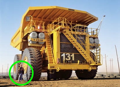 dumper camiones mas grandes gigantes