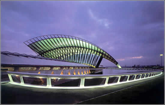 estacion tren lyon calatrava aeropuerto satolas