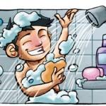 Diferentes formas de bañarse según sea hombre o mujer