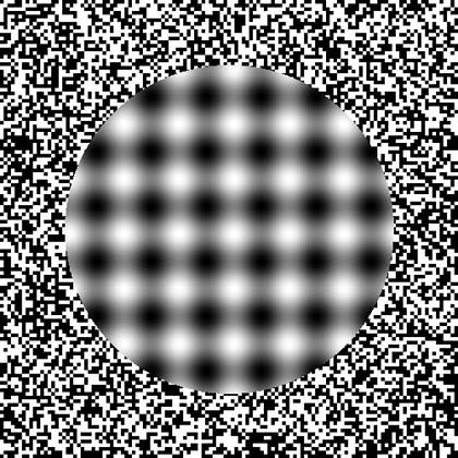 ilusiones opticas circulo fondo