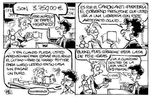 imagenes humor risa canon antipirateria