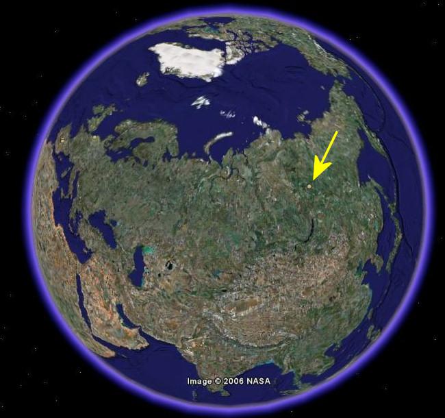 localizacion mirni mirny mirna agujero grande tierra