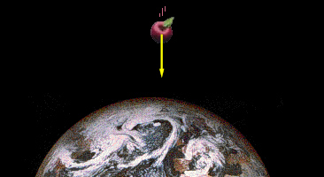 manzana fuerza gravedad tierra newton