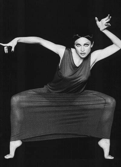 martha-graham madonna 1994