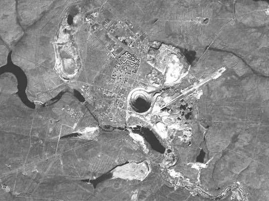 mina-mirna-satelite-vista-arriba-mirny-mirni