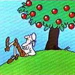 ¿Cuando la manzana de Newton cayó al suelo, atrajo ésta a la Tierra?