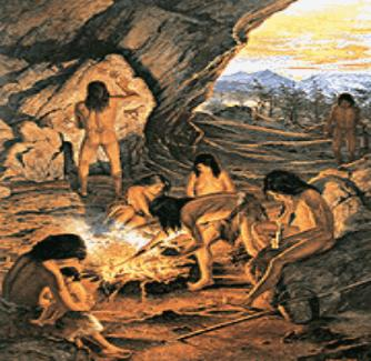 prehistoria hombres mujeres