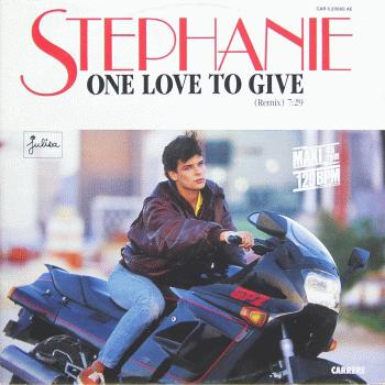 stephanie-estefania-monaco-one love to give lp
