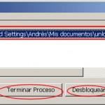 unlocker programa procesos ficheros borrar ocupados